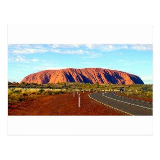 Uluru/Ayers Felsen - Australien Postkarte