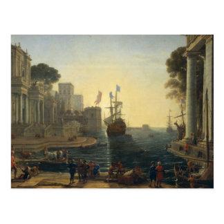 Ulysses, der Chryseis zu ihrem Vater zurückbringt Postkarte