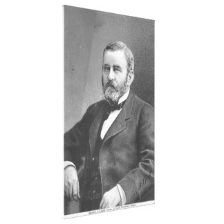 Ulysses S Grant durch großen atlantischen u. Leinwanddruck
