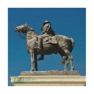 Ulysses S Grant Holzleinwand