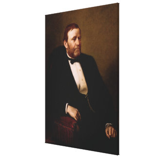ULYSSES S. GRANT Portrait durch Druck Henrys Ulke Leinwanddruck