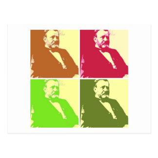 Ulysses S Grant Postkarte