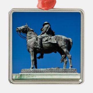 Ulysses S Grant Silbernes Ornament