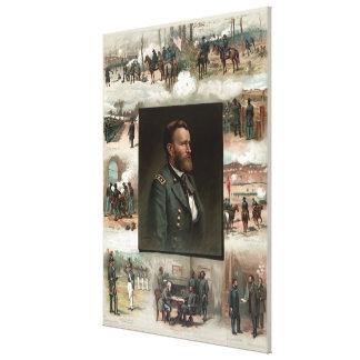 Ulysses S. Grant von West Point zu Appomattox Leinwanddruck