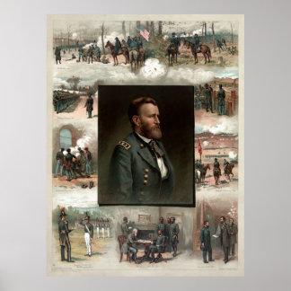 Ulysses S. Grant von West Point zu Appomattox Poster