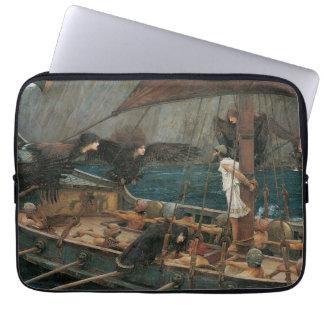 Ulysses und die Sirenen durch JW Waterhouse Laptopschutzhülle
