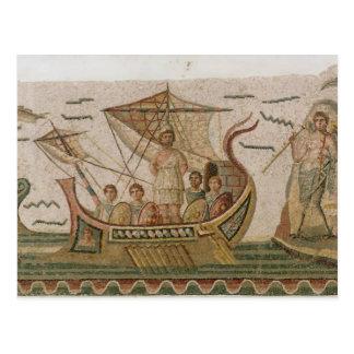 Ulysses und die Sirenen Postkarte