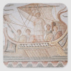 Ulysses und die Sirenen Quadratischer Aufkleber