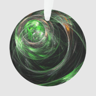 Um den Weltgrün-abstrakten Kunst-Acryl-Kreis Ornament
