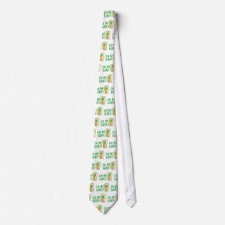 Um sicher zu sein! Irisches Bierhalbes liter Krawatte