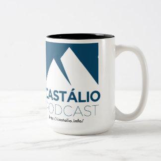 Uma Caneca de Café tun Castálio! Zweifarbige Tasse