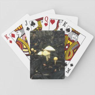Umarmen der Pilze Spielkarten