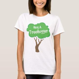 Umarmen Sie ein Treehugger T-Shirt