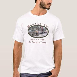 Umarmen Sie eine Blockwinde T-Shirt