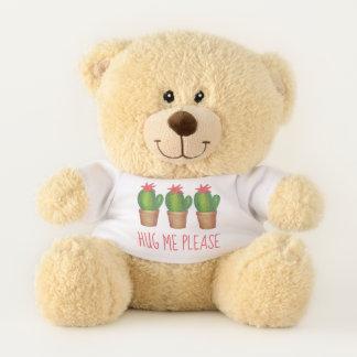 Umarmen Sie mich bitte stacheliger grüner Teddybär