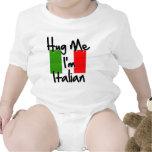 Umarmen Sie mich, den ich italienisch bin Strampler