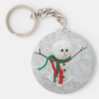 Umarmen Sie mich Schneemann Schlüsselanhänger