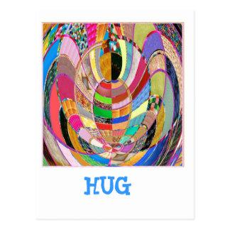 UMARMUNG   - eine künstlerische Darstellung Postkarten