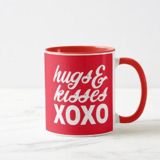 Umarmungen u. Küsse Tasse