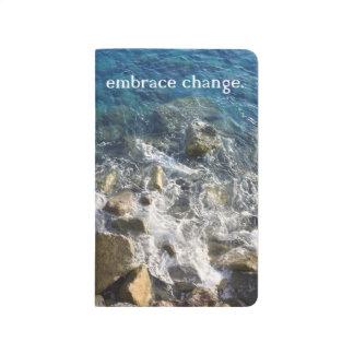 Umarmungs-Änderung Notbook Taschennotizbuch