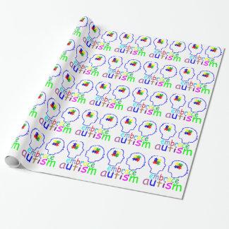 Umarmungs-Autismus. Geschenkpapier