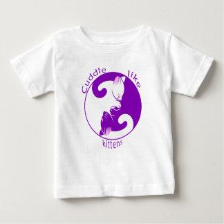Umarmungs-Kätzchen Baby T-shirt