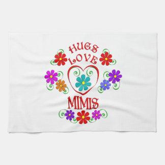 Umarmungs-Liebe Mimis Küchentuch