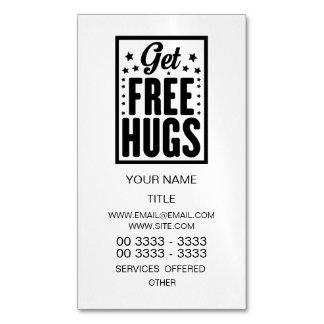Umarmungs-Tag - Spaß-Retro Werbung Visitenkartenmagnet