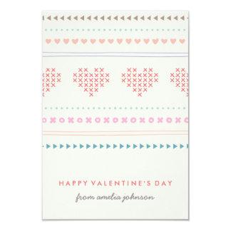 Umarmungs-u. Kuss-Klassenzimmer-Valentinsgruß - 8,9 X 12,7 Cm Einladungskarte