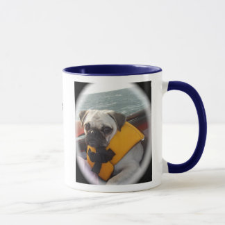 Umarmungs- und Mops-Tasse Tasse