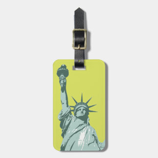 Umbau Damen-Liberty Lime Green Luggage Kofferanhänger