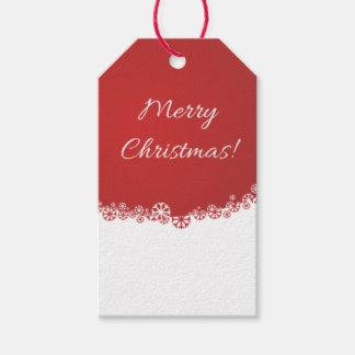 Umbauten der frohen Weihnachten Geschenkanhänger