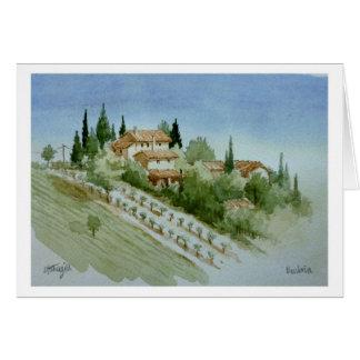 Umbrian Bauernhaus Karte
