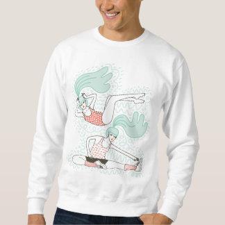 Umfassen Sie die Rollen Sweatshirt