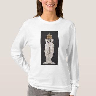 Umgangsformen, Begräbnismonument mit Herzen von T-Shirt