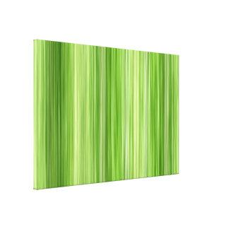Umgebende 3 grün, ursprünglicher moderner Entwurf Leinwanddruck