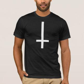 Umgedrehtes Kreuz T-Shirt