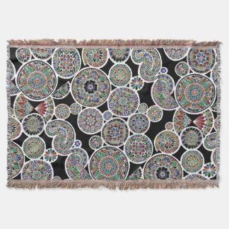 Umgekehrter königlicher Mandalas Decke