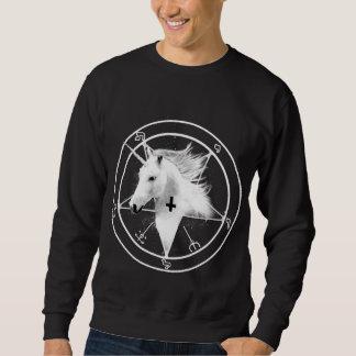 Umgekehrtes QuerEinhorn-Sweatshirt Sweatshirt