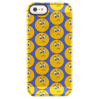 Umgekippter Emojis Telefon-Kasten mit blauem Durchsichtige iPhone SE/5/5s Hülle