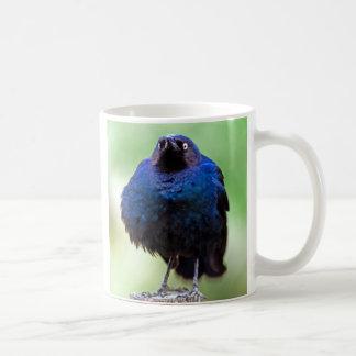 Umgekippter Starling Kaffeetasse