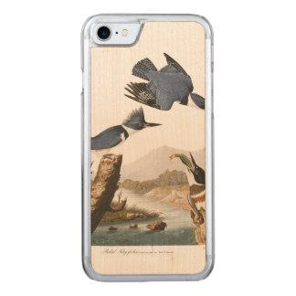 Umgeschnallter Eisvogel Audubon Platten-77 Carved iPhone 8/7 Hülle
