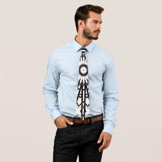 Umgewandelte Spiegel-Mandala 2 Individuelle Krawatten