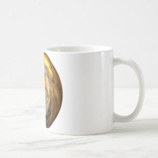 Umhang-Scheiben-Ausschnitt - Digital-Grafik Kaffeetasse