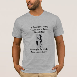 Umhüllung ist ein Art. T-Shirt