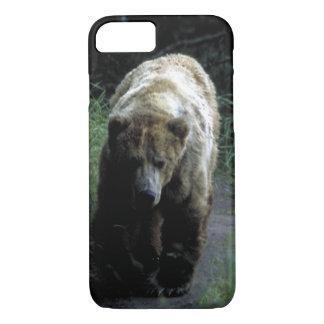 """Umkleiden Sie kaum dort für iPhone 7"""" Grizzlybär """" iPhone 8/7 Hülle"""