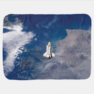 Umlaufbahn der Erde die NASA-Raumfähre-der Puckdecke