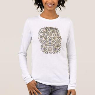 Ummauern Sie Fliesen von Qasr Rodouan, 'von der Langarm T-Shirt