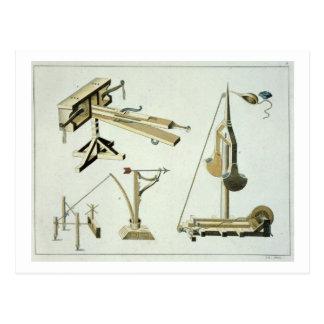 Umschlingen Sie Waffen, Platte von 'einer Postkarte