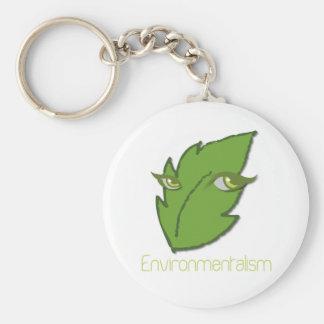 Umweltbewegung Keychain Standard Runder Schlüsselanhänger